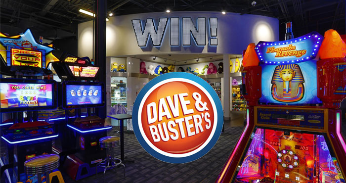 Play the Dave & Buster's Mix & Match game and you could win FREE GAME PLAY FOR A YEAR or instantly score a $100 Dave & Buster's Gift Card.Then put some DING DING DING in your Summer with 7 new games and 23 new menu items, only at Dave & Buster's.