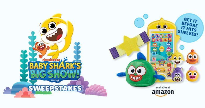 Enter for your chance to win a Baby Shark prize pack from #NickJr Each prize pack
