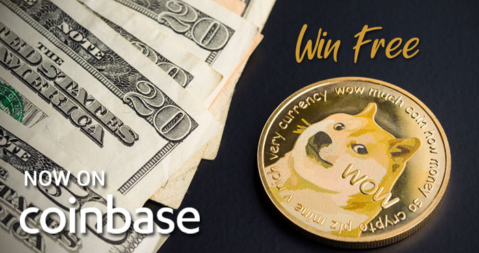 You can now trade, send, and receive #Dogecoin on Coinbase and with the Coinbase app. To celebrate, @Coinbase is giving away $1.2 million in Dogecoin. Buy or sell $100 in DOGE on Coinbase by 6/10/2021 for your chance to win.