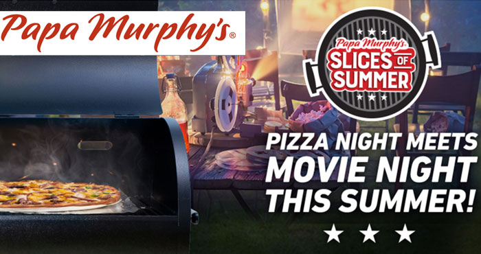 Enter for your chance to win a grill and up to $500 in weekly prizes for summertime fun in Papa Murphy's Slices Of Summer Sweepstakes. Come back every week through July 26th for your chance to win.