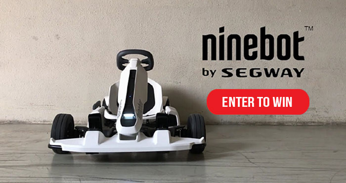 Enter for your chance to win one of five prize packs, including a Segway Ninebot GoKart Pro, XBOX Series X console, Beats Studio3 Wireless headphones and a signed copy of the book Dude Perfect 101 Tricks, Tips and Cool Stuff. One lucky grand prize winner will receive a 2021 Polaris RZR XP 4 1000 SPORT.