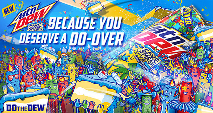 Follow @MountainDew and tweet your funniest 2020 party-fail story with #DewDoOver #Sweepstakes for a chance to win 2 cans of CAKE-SMASH or $1K! This past year, we know DEW® Nation has missed out on countless life moments and celebrations.