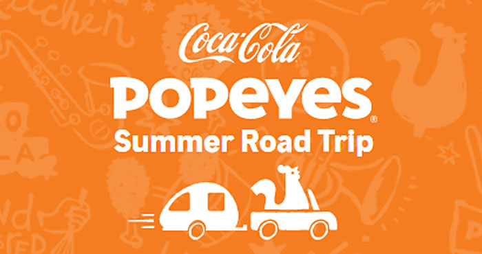 Popeye's is giving away Free food items everyday through July 8th plus your chance to win Amazon and vacation rental gift cards and be entered to win the grand prize - $50,000 in cash! Play the Popeye's 12 Days of Summer Road Trip Instant Win Game daily for your chance to win