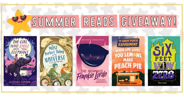Snag these epic reads to Kickstart Your Epic Summer Adventures.FIVE lucky winners will receive a Summer Reads Prize Pack from YAYOMG! and Holiday House. Whether you love reading at the beach, in your bunk at summer camp, or cozied up on the couch in the air conditioning, there's one thing we can all agree on – summer reading is the absolute best!