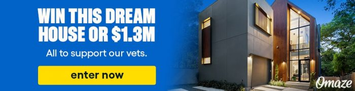 Enter to win a New Home from Omaze
