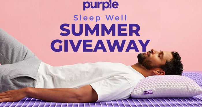 MyRegistry.com has teamed up with Purple, maker of mattresses engineered for perfect comfort, to give you your best night's sleep. One (1) lucky winner will receive a $1,000 Gift Card to spend at purple.com.