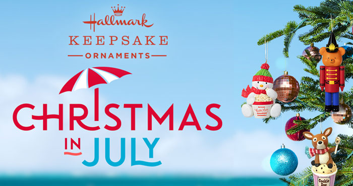 As you thinking of Christmas in July? Well Hallmark is and they want you to win a set of ten Hallmark Keepsake Ornaments.