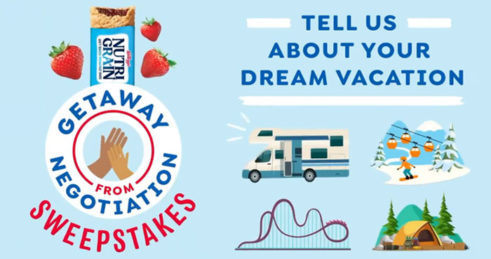 Share your dream family getaway destination within the contiguous U.S. for a chance to make it a reality!