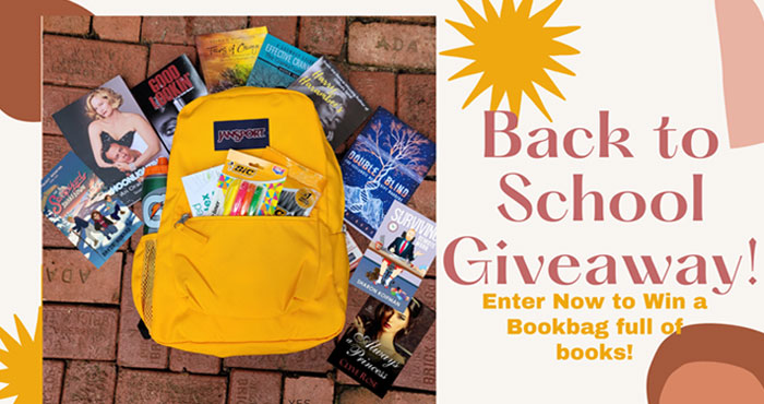 Enter for your chance to wina JANSPORT bookbag with school essentials and big stacks of books! Head to class with this great new bookbag, supplies, and a ton of new books you'll love.