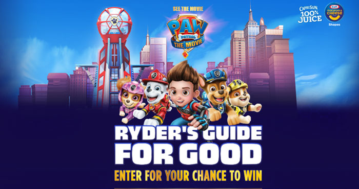 Kraft Heinz Foods Ryder's Guide for Good Sweepstakes