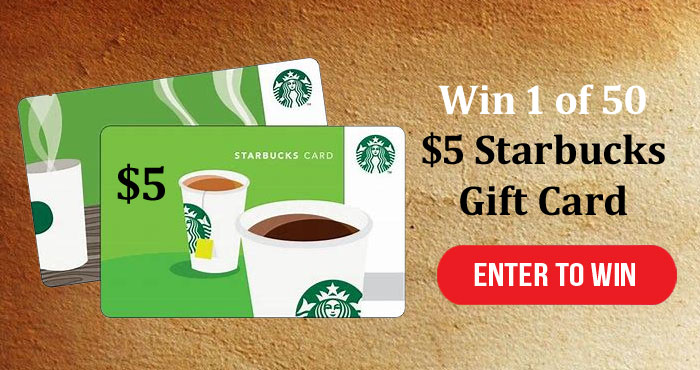 The Silver Solutions has a survey for you to take for your chance to win a Starbucks gift card.