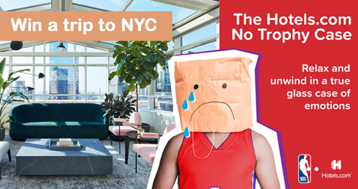 Enter for your chance to win a trip to #NYC to stay at the beautiful Conrad Atrium Room.