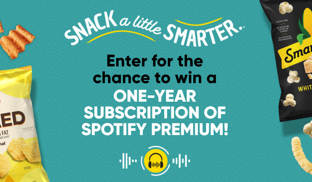 Play the Frito-Lay Snack a Little Smarter Back to School Instant Win Game and you could win a year of Spotify Premium for Free! Grab your free game codes and play daily to win