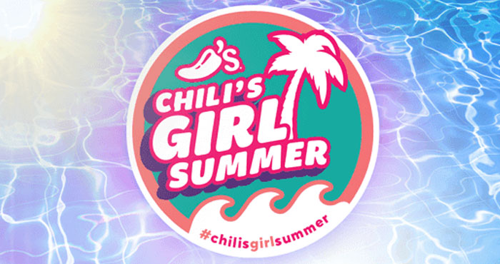 Hey Chili's Girl! Enter for a chance to win the Chili's Girl Summer Sweepstakes! YOU could win a trip for two to Miami to live the ultimate Chili's Girl Summer!