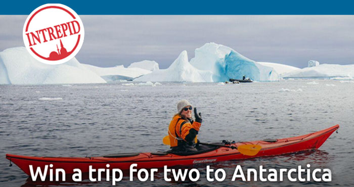 Intrepid Travel Trip for two to Antarctica Sweepstakes