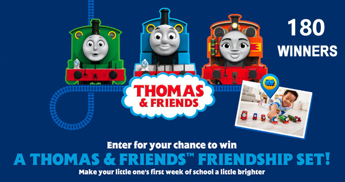 Thomas & Friends Back-to-School Sweepstakes