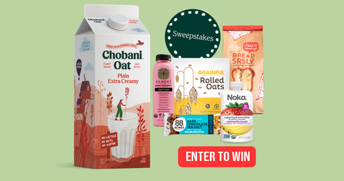 Enter for a chance to win snacks for the whole family from Chobani