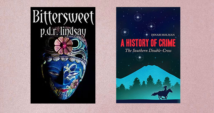 Enter for your chance to win two historical mystery novels - Bittersweet and A History of Crime: The Southern Double Cross. There will be one lucky winner. All non-winners will be able to download a free prizewinning short story.