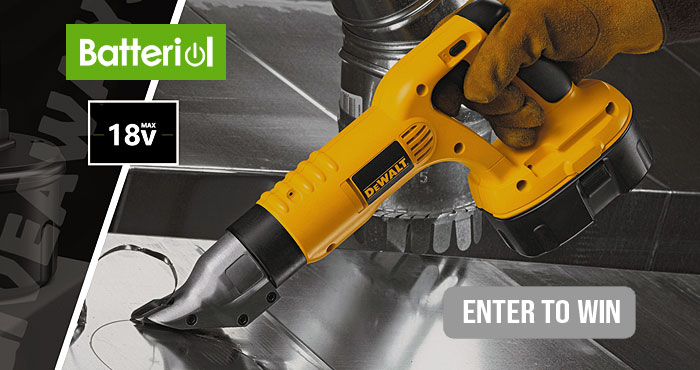 Batteriol is giving you the chance to win one of 10 Dewalt 18v Ni-Mh Replacement battery 2 Packs that are compatible with Dewalt handheld 18 Volt Power Tool. These high capacity batteries have long-lasting performance.
