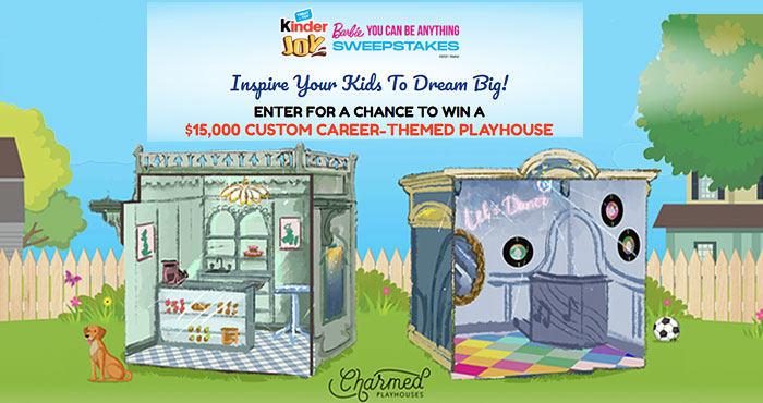 Win a Custom Barbie Playhouse from Charmed Playhouses