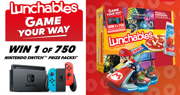 Lunchables Game Your Way Instant Win Game