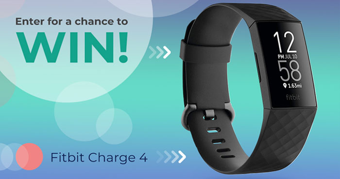 Enter for your chance to win a Fitbit Fitness and Activity Tracker with Built-in GPS. It's time to get healthier and fitter by focusing on ourselves. This giveaway is open to the US and No purchase is necessary to enter or win.