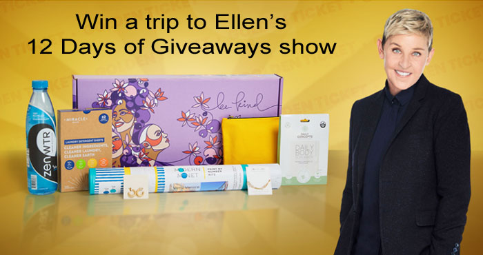 BE KIND. by Ellen's Fall Box Golden Ticket Sweepstakes