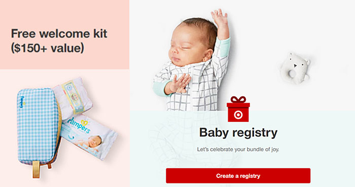 FREE Target Baby Welcome Kit with $150 Worth of Coupons and Samples