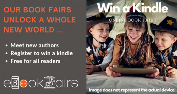 Online Book Fairs is giving away a new basic Kindle model shipped from Amazon. Online Books Fairs unlocks a whole new world where you can meet new authors and find new books.