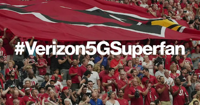 Verizon 5G Superfan NFL Kick-Off Contest - Win Super Bowl Tickets for the next 10 years