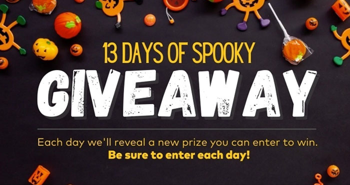 Oriental Trading Company 13 Days of Spooky Giveaways