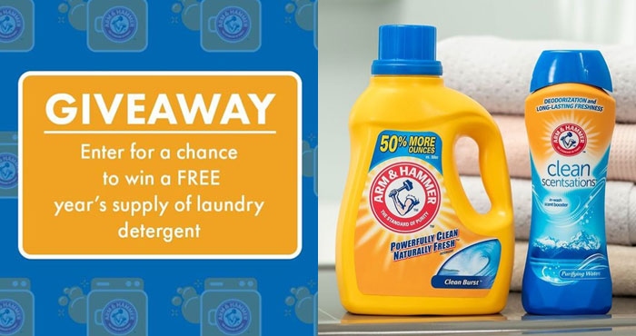 Arm & Hammer Laundry Back To School Giveaway