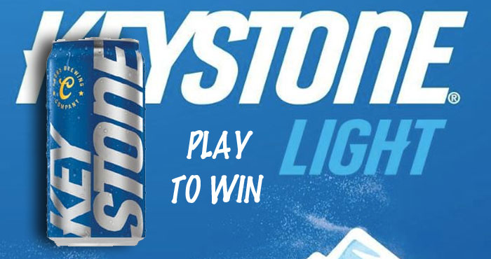 Keystone Light September Instant Win Game Play the Keystone Light September Instant Win Game daily through October 11th to win Keystone light gear instantly