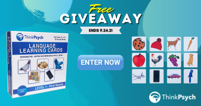 Enter for your chance to winThinkPsych First Noun Picture Flash Cards ($45) The First Noun Picture Flash Cards were designed by two psychologists and language development experts to help teach children vocabulary, matching, and sorting skills