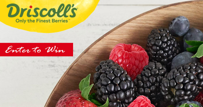 Driscoll's Back to School #SweetnessWorthSharing Sweepstakes