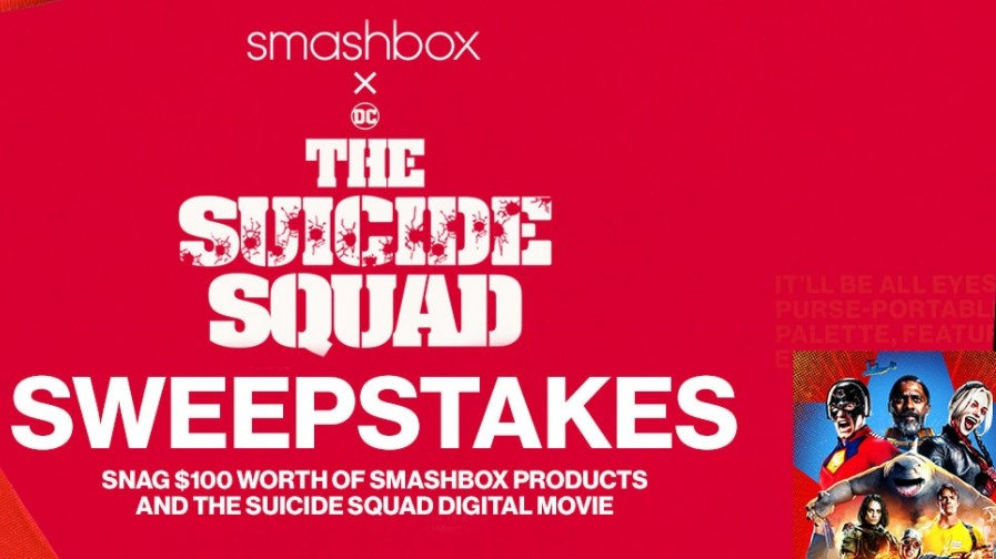Smashbox x The Suicide Squad Sweepstakes