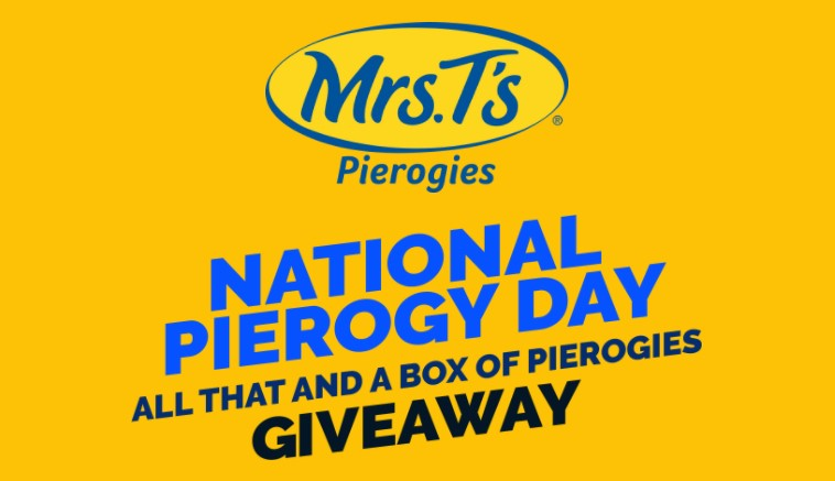 Let's celebrate National Pierogy Day 90's-style with Mrs. T's All That and a Box of Pierogies Giveaway! Honestly, what's better than a year's worth of free pierogies? Add a pop of nostalgia and color with our one-of-a-kind National Pierogy Day apparel and accessories; a Crockpot, Boom Box and Polaroid Camera! One lucky winner will also receive a $1,000 Visa Gift Card! Don't miss your chance to pierogy like it's 1999. Enter now through 10/31 for your chance to win!