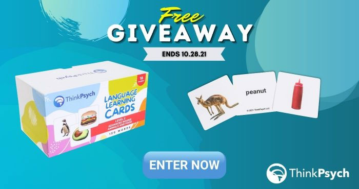ThinkPsych Advanced Nouns Flashcards Giveaway