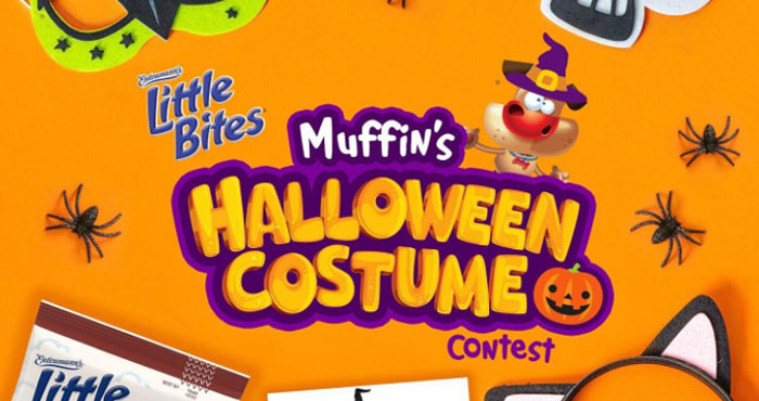 Enter for your chance to win a year's supply of Little Bites muffins Plus a $250 Visa gift card from Entenmann's. Share your unique #Halloween costume idea on Instagram for your chance to win