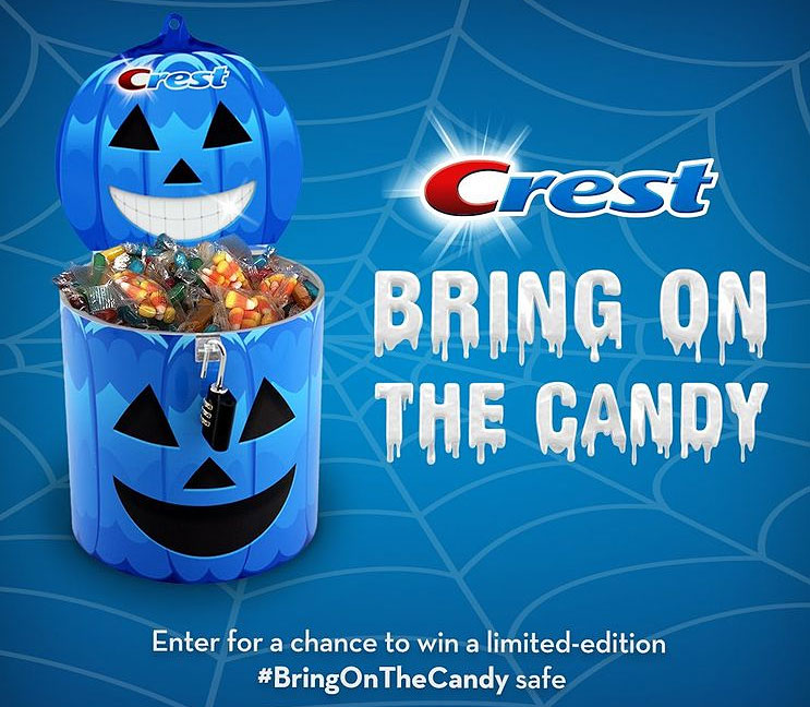 Crest Halloween #BringOnTheCandy Safe Giveaway (50 Winners Per Day)