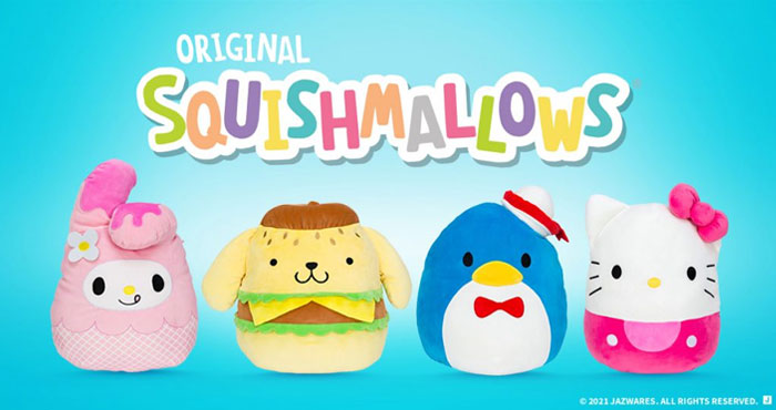 Enter Squishmallows #GetGoldenHans contest for a chance to win the 100 Millionth Squishmallows. They are choosing 100 winners: 75 will receive the Hans with Golden Details, while 25 will receive the most rare Squishmallows ever, a 24-inch version of Golden Hans (these are not available for sale and only 30 will be produced)