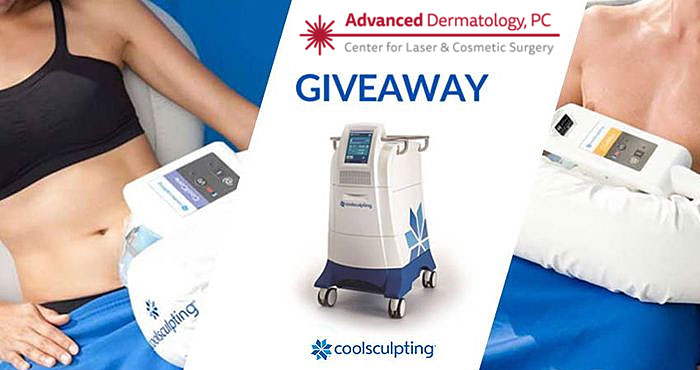 Advanced Dermatology is giving away a small applicator session of CoolSculpting (a $750 value).
