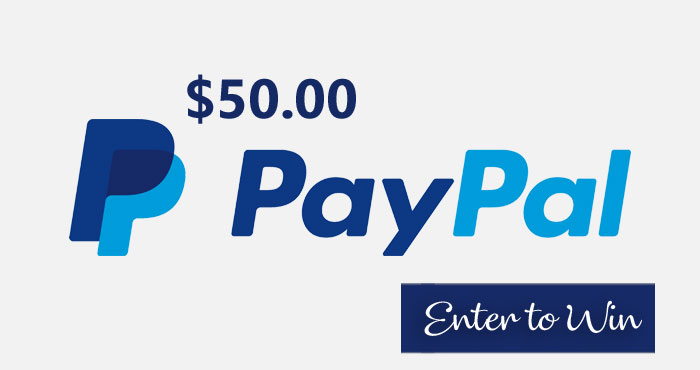 Enter to win $50 in PayPal cash