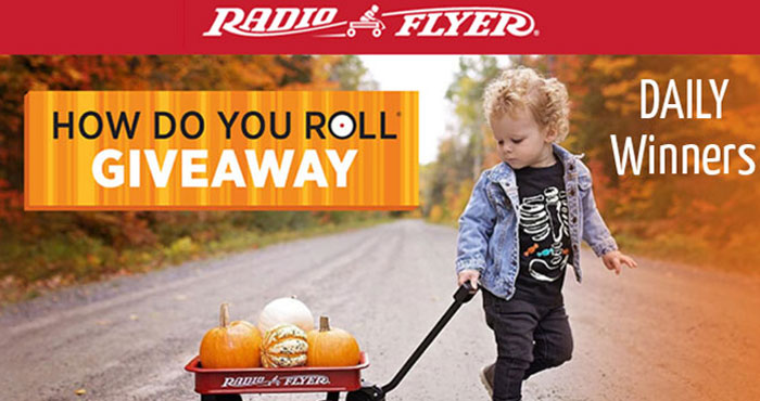 Radio Flyer How Do You Roll Sweepstakes (Daily Prizes)