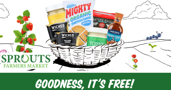 Five (5) FREE Products from Sprouts Farmers Market