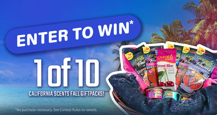 California Scents Fall Gift Packs Giveaway